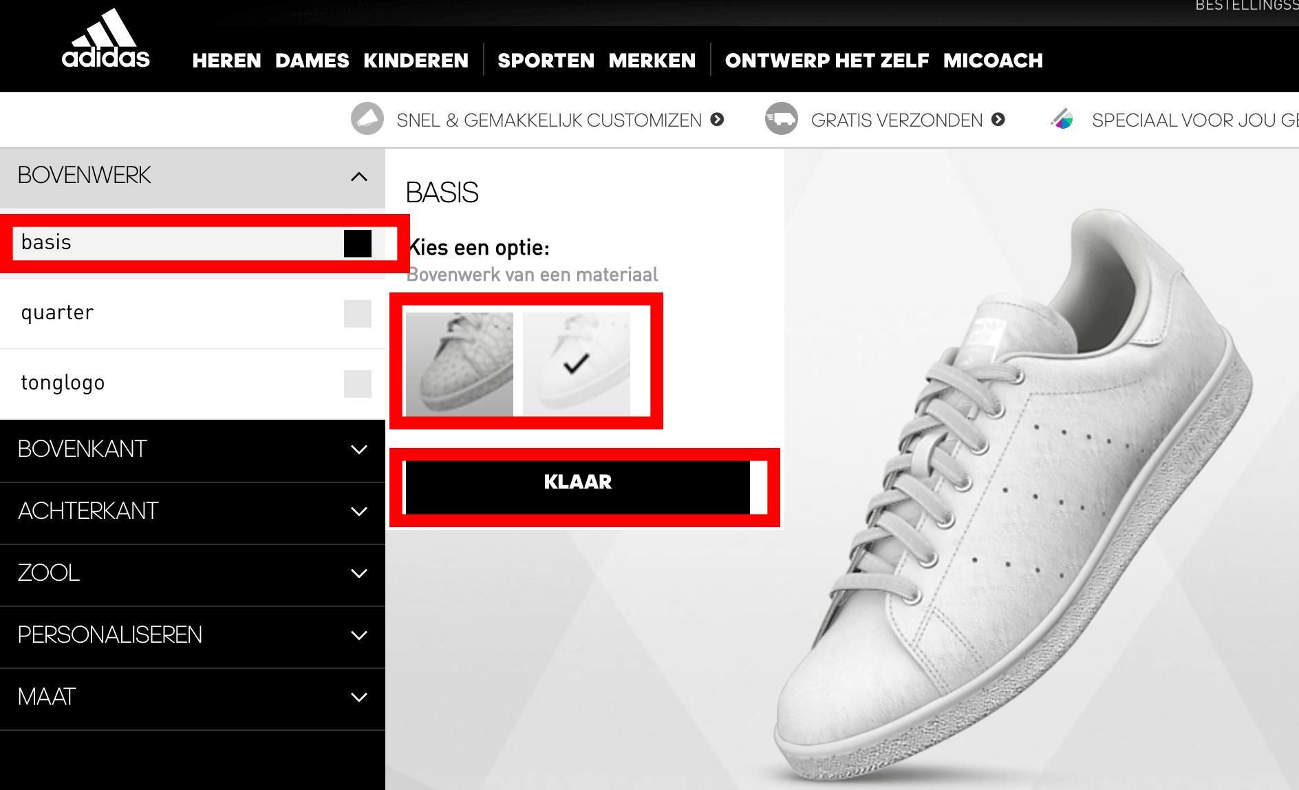 eigen schoenen ontwerpen