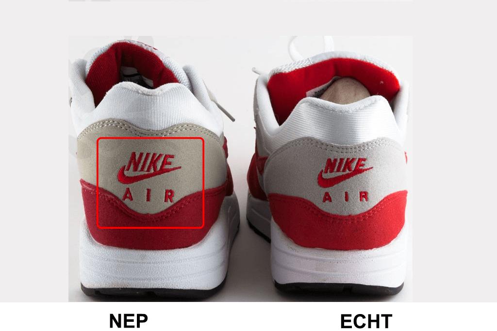 Echte sneakers herkennen