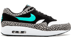 nike air max 1 zwart dames sale