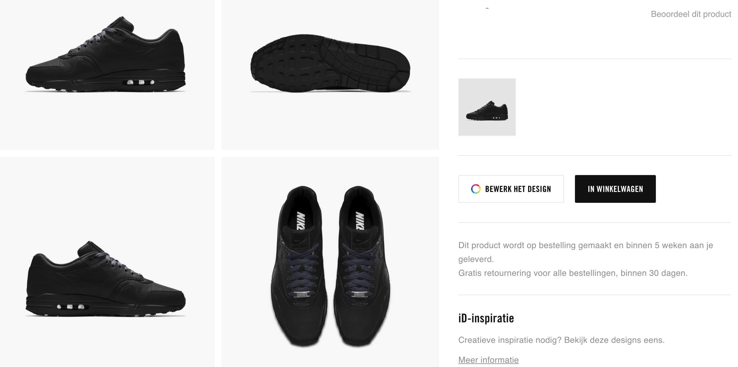 Ontwerp je eigen Nike, Adidas of Reebok sneakers Bekijk de